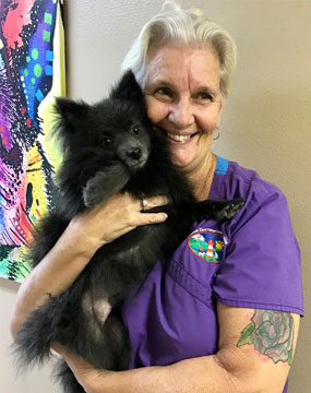 Cathy Tinsley - Kennel Technician - Mount Dora Veterinary Hospital